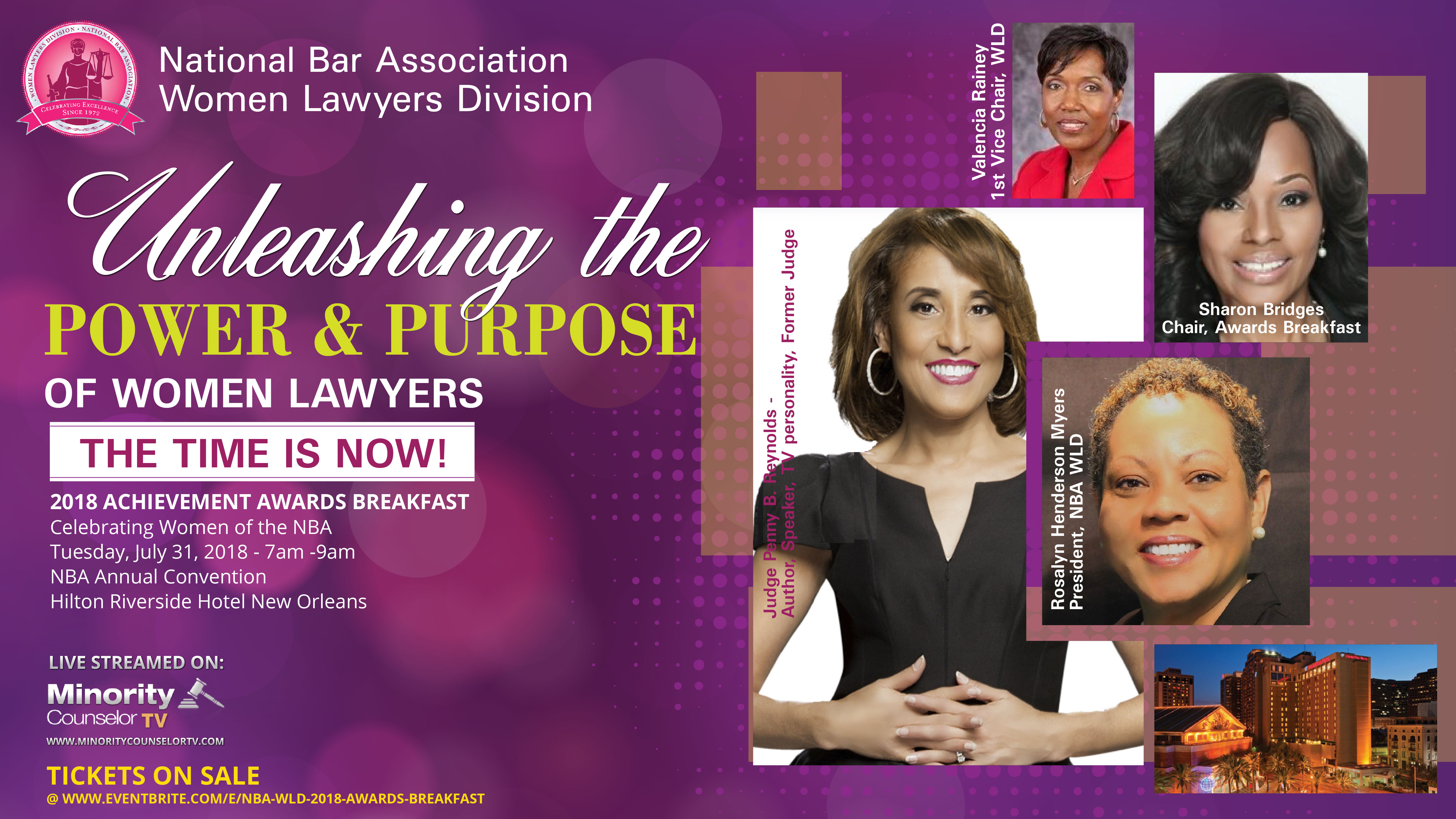 NBA Women Lawyers Division Women of Achievement Awards Magazine